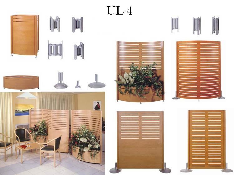 claustra 4 ul mobilier de bureau. Black Bedroom Furniture Sets. Home Design Ideas