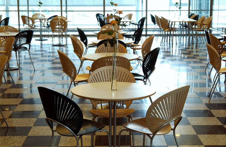 Chaise pour salle de restauration rf 1 mobilier de bureau for Mobilier salle a diner