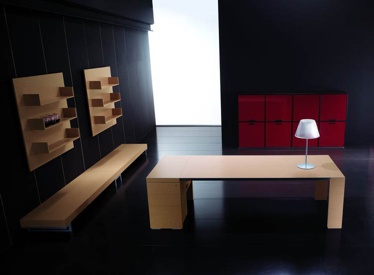 mobilier de bureau contemporain bureau contemporain. Black Bedroom Furniture Sets. Home Design Ideas