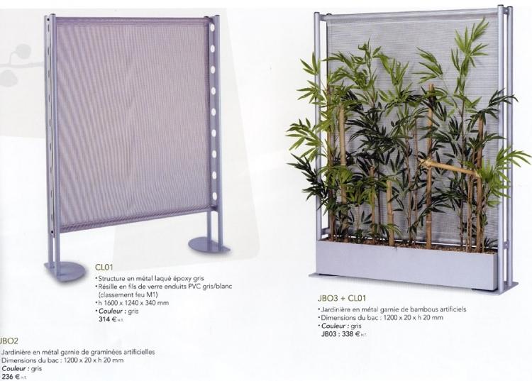 Claustra contemporain design eg mobilier de bureau - Claustra bureau ...