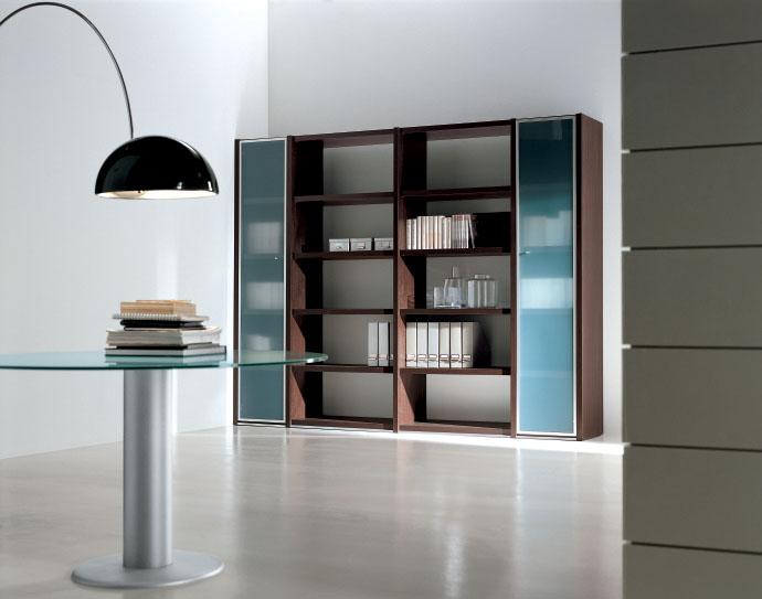 armoire de bureau bois et vitrine uq 27. Black Bedroom Furniture Sets. Home Design Ideas