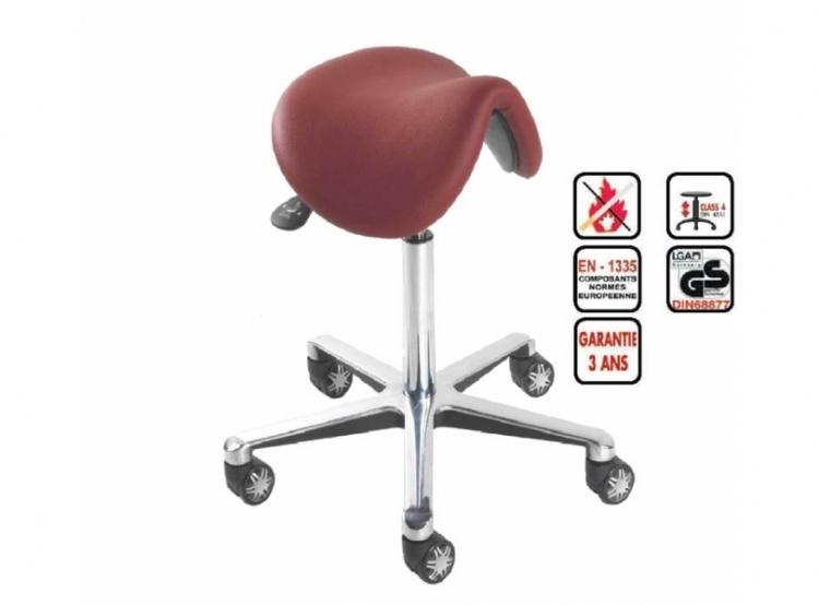 Tabouret selle de cheval ph hk mobilier de bureau - Tabouret ergonomique selle de cheval ...