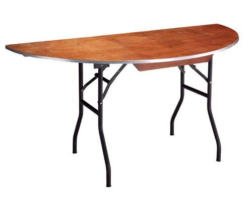 Table pliante pour banquet rue mobilier de bureau - Table demi lune pliante ...