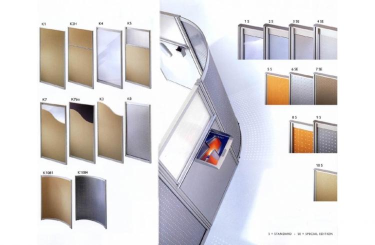Cloison et cloisonnette acoustique ba mobilier de bureau - Isolation phonique bureau ...