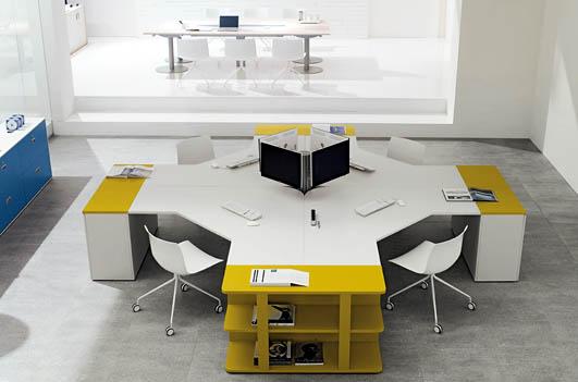 bureau op ratif couleur contemporain am 5. Black Bedroom Furniture Sets. Home Design Ideas