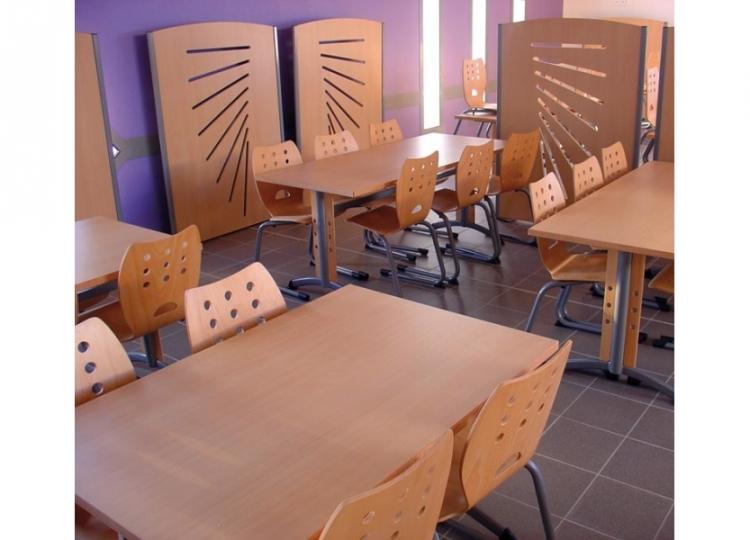 Gamme pour salle de restaurant zenith al mobilier de bureau for Mobilier salle a diner