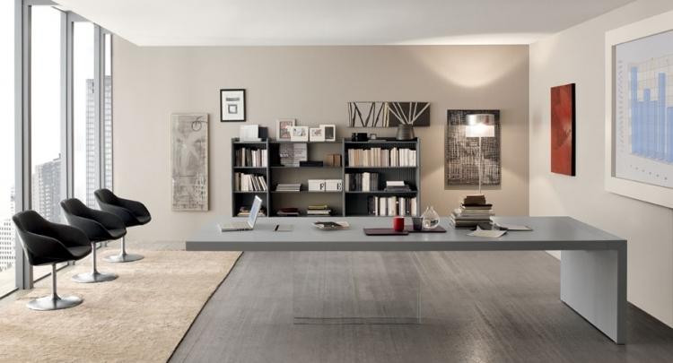 Bureau table de direction prestige am gr mobilier de bureau for Muebles de oficina rd