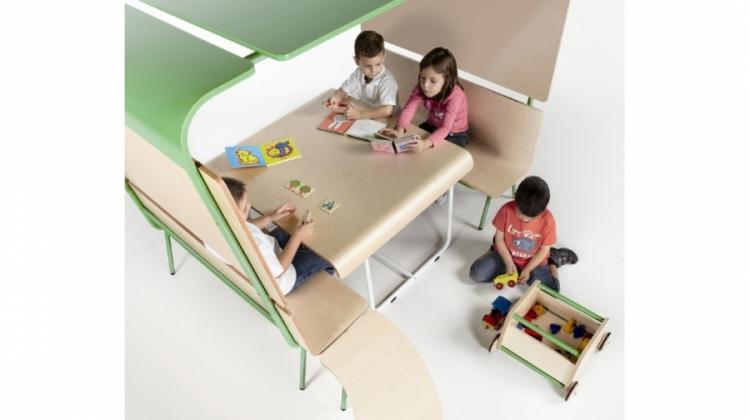 Niche enfants modulaires sis mobilier de bureau for Mobilier informatique scolaire