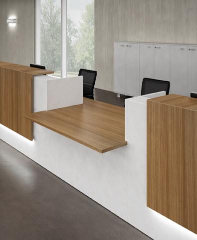 banque accueil design uq z 222 mobilier de bureau. Black Bedroom Furniture Sets. Home Design Ideas