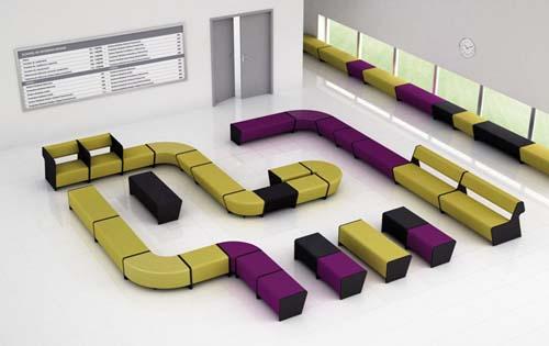 banquette pour salle d 39 attente mb2 mobilier de bureau. Black Bedroom Furniture Sets. Home Design Ideas