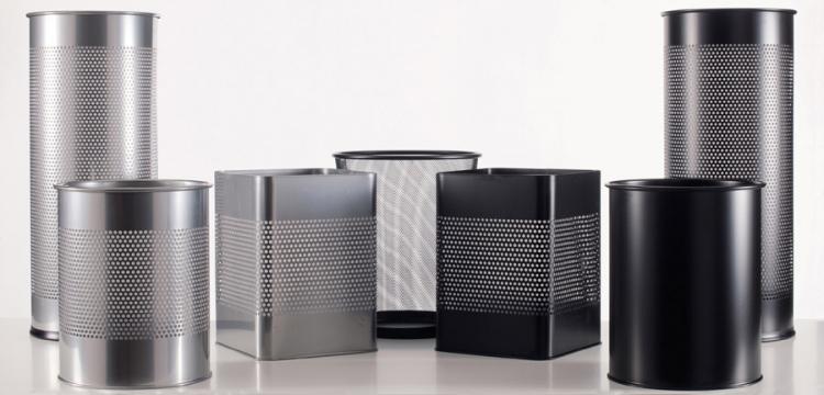 corbeille et banette couleur budget pg mobilier de bureau. Black Bedroom Furniture Sets. Home Design Ideas