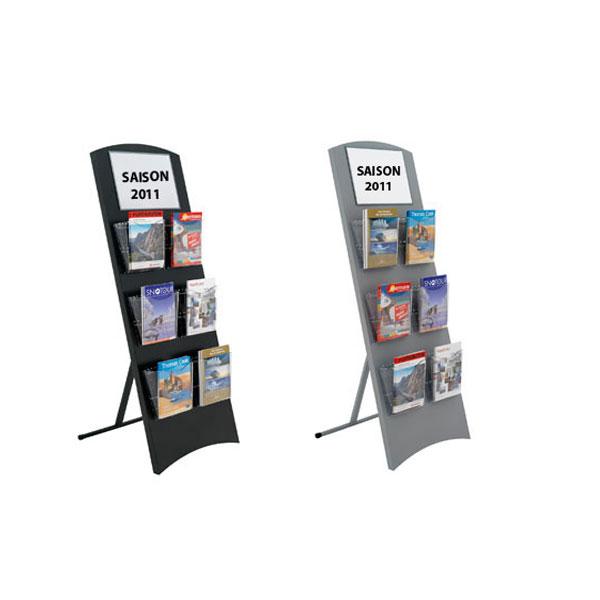 Pr sentoir pliant pour brochure deot 51 mobilier de bureau for Mobilier bureau 51
