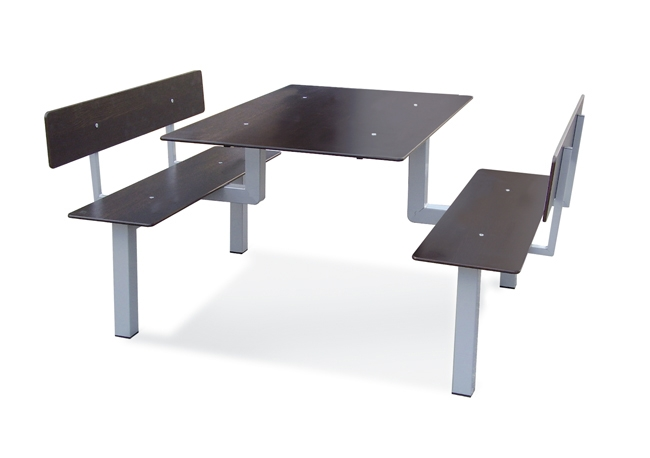 Table avec banc attenant int rieur ou ext rieur leb 11 for Table exterieur avec banc