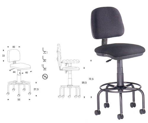 Table dessin professionnelle cor 2 mobilier de bureau - Chaise de dessinateur ...