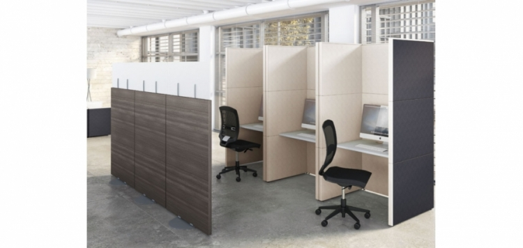 Call center modulaire avec isolation phonique ub mobilier de bureau - Isolation phonique bureau ...
