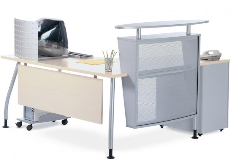Petite banque d 39 accueil dm mobilier de bureau for Petit mobilier de bureau