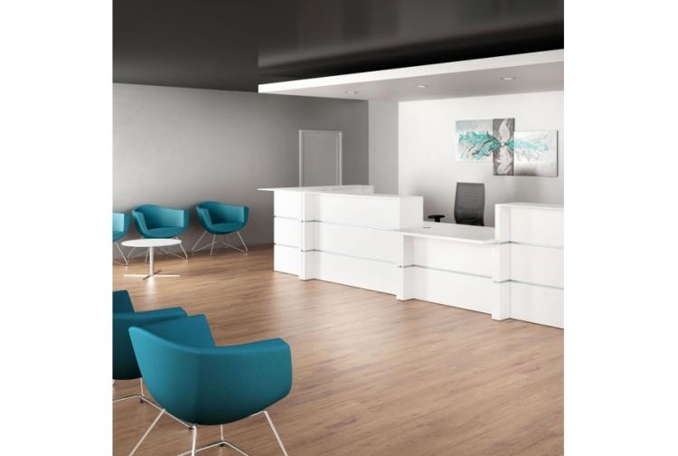 banque d 39 accueil modulaire dobret rb mobilier de bureau. Black Bedroom Furniture Sets. Home Design Ideas