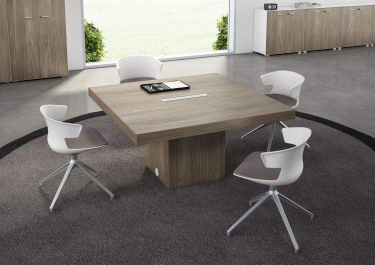 table de r union modulaire carr e uq 209 mobilier de bureau. Black Bedroom Furniture Sets. Home Design Ideas