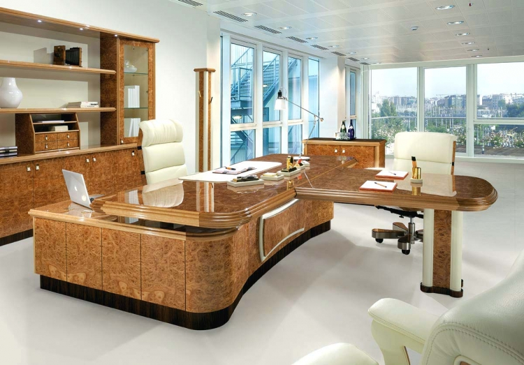 bureau grand luxe mar apollo mobilier de bureau. Black Bedroom Furniture Sets. Home Design Ideas
