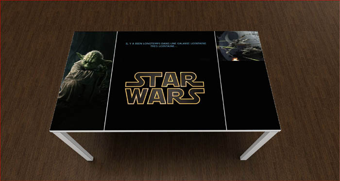bureau enfant star wars. Black Bedroom Furniture Sets. Home Design Ideas