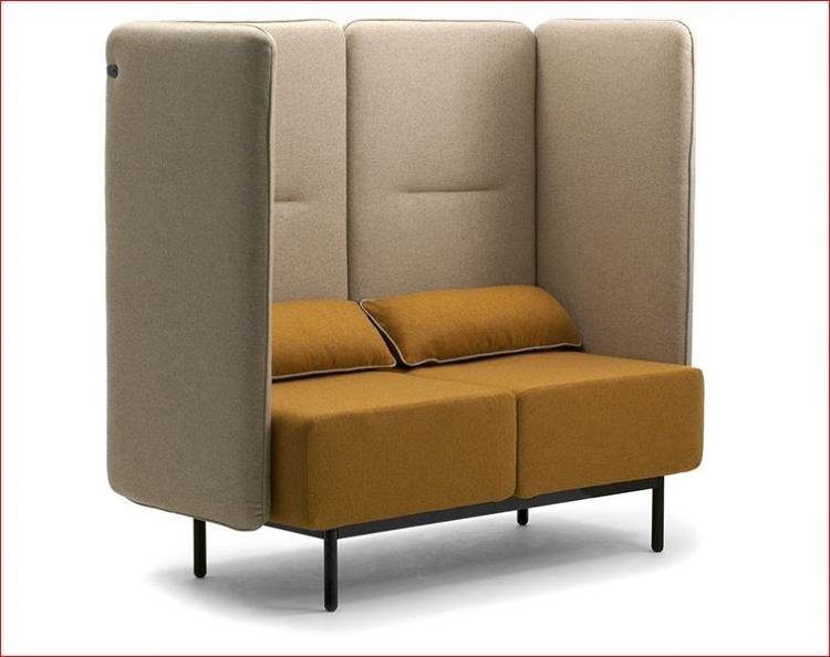 Canap et fauteuil ilot de tranquilit lounge el mobilier de bureau - Isolation phonique bureau ...