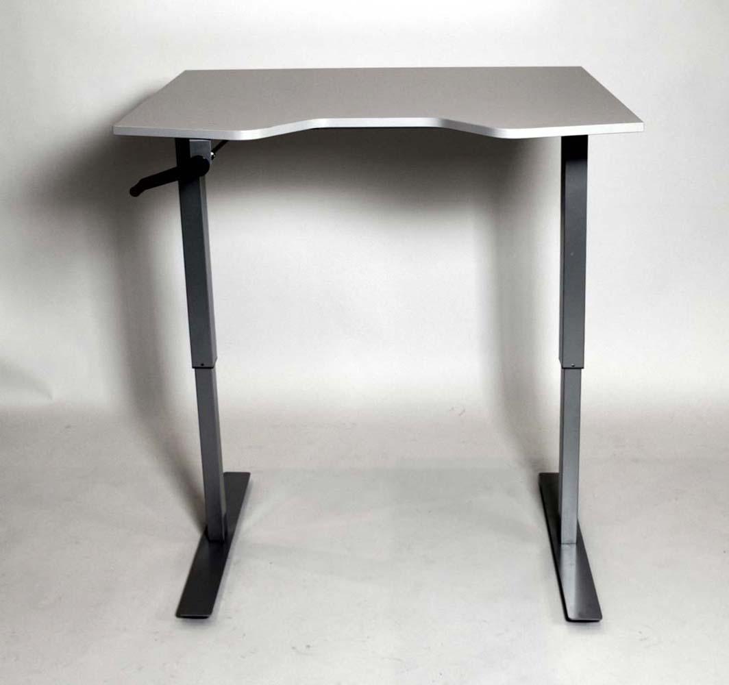poste de travail r glable m canique nomade tca 1232m. Black Bedroom Furniture Sets. Home Design Ideas
