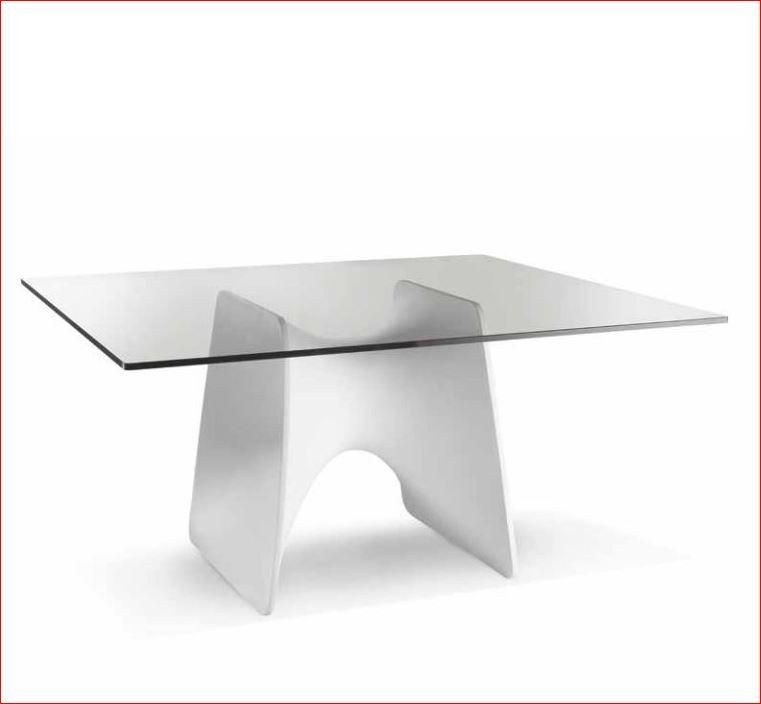 table ovale plateau verre lux erg. Black Bedroom Furniture Sets. Home Design Ideas