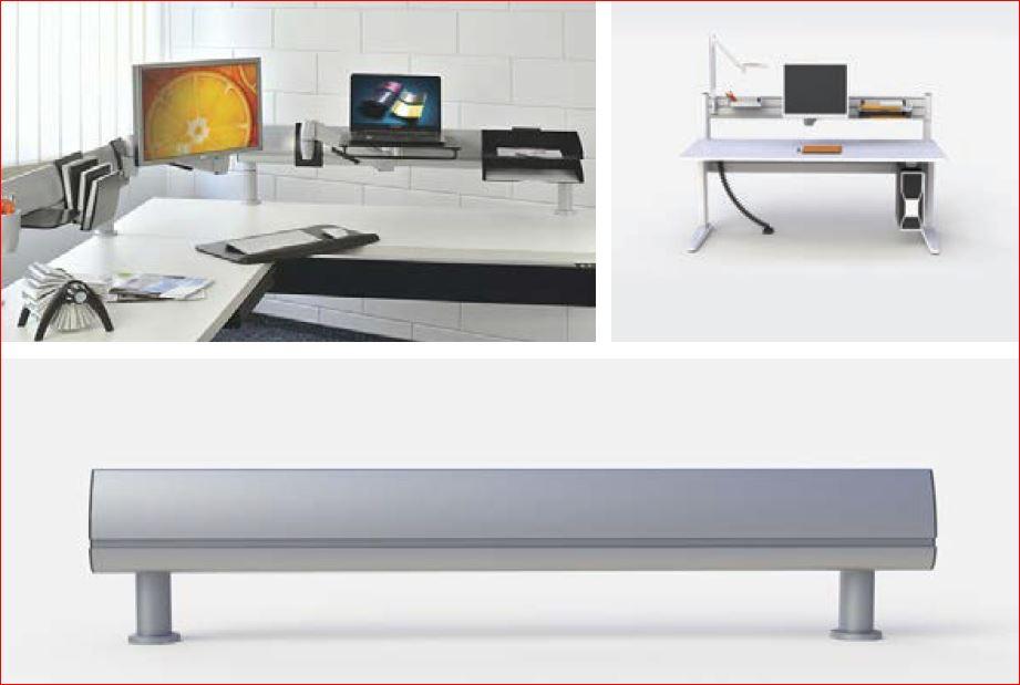 portique avec accessoires pour plan de travail ige. Black Bedroom Furniture Sets. Home Design Ideas