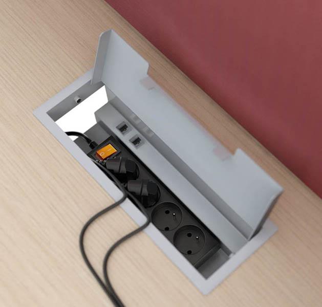 Bureau Assis Debout Electrique Dm