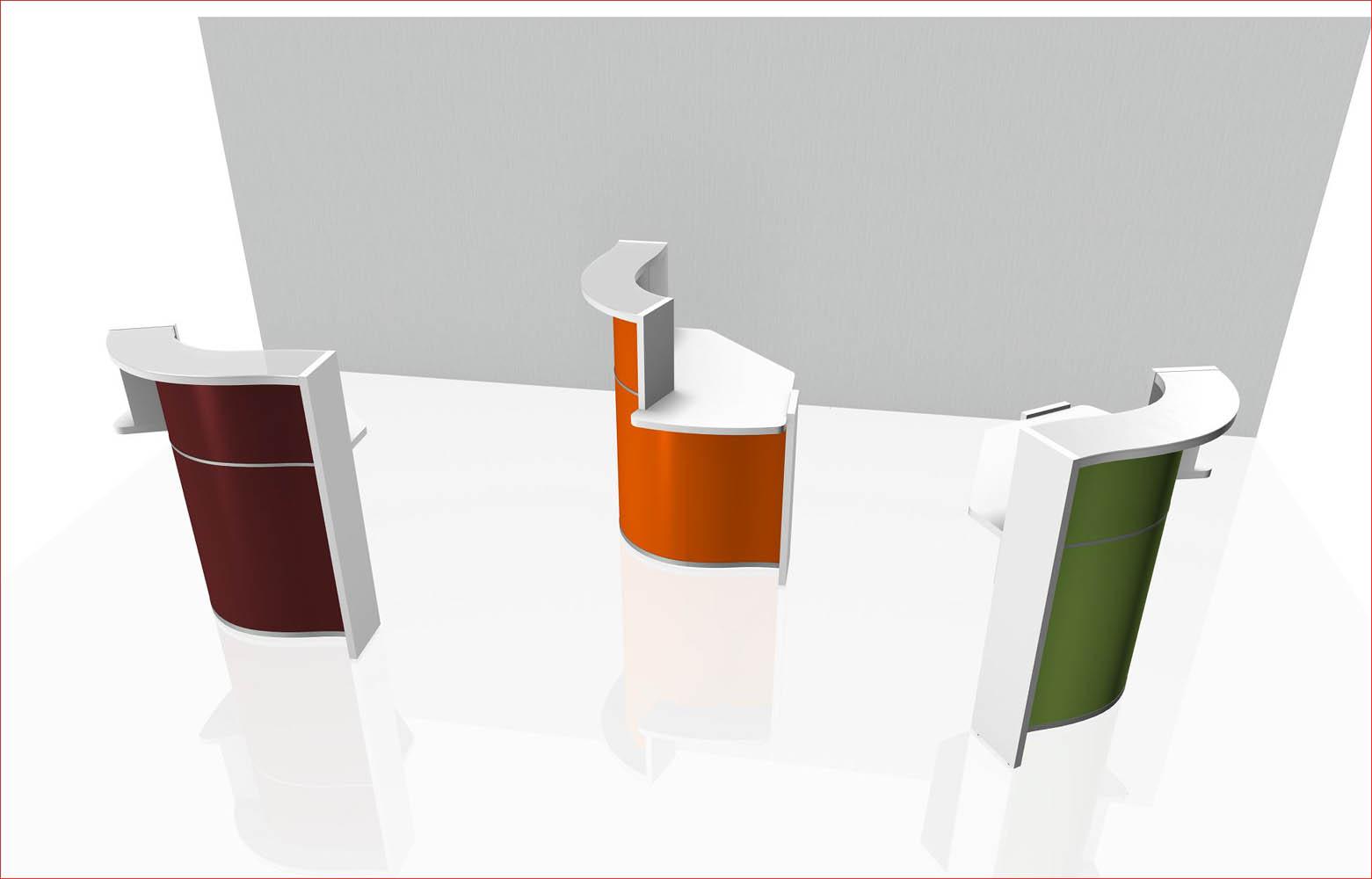 borne ou plot d 39 accueil petite banque dm vag. Black Bedroom Furniture Sets. Home Design Ideas