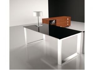 Table De R Union Plateau En Verre
