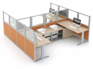 cloisonnette et cloison de bureau. Black Bedroom Furniture Sets. Home Design Ideas
