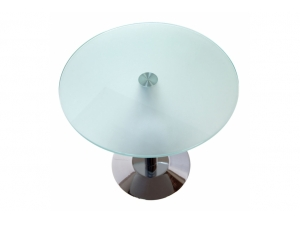table basse :: table basse plateau rond verre COR