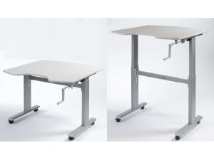 travail assis et debout mobilier de bureau. Black Bedroom Furniture Sets. Home Design Ideas
