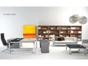 bureau direction :: bureau table de direction contemporain AMH 2000
