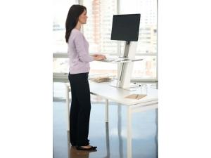Adaptateur de bureau en bureau debout support de station de