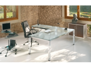 bureau direction :: bureau de direction plateau verre COR 1