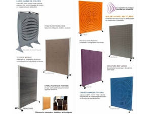 isolation  phonique protection acoustique :: claustras acoustique UL 6000
